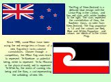 The Flag of New Zealand is a defaced blue ensign with the Union Flag in the canton, and four red stars with white borders to the right. The stars represent the constellation of Crux, the Southern Cross, as seen from New Zealand. The flag proportion is 1:2 and the colours are Red, Blue and White. Pro