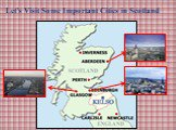 Let's Visit Some Important Cities in Scotland