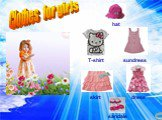 сарафан.jpg Clothes for girls hat sundress skirt dress sandals T-shirt