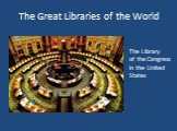 The Library of the Congress in the United States