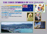 The State symbols of New Zealand. New Zealand is an independent state within the Commonwealth. The capital of New Zealand is Wellington. The head of the state is Queen of Britain (Elizabeth ), represented by Governor-General and Commander-in-Chief in and over New Zealand. The name of Governor-Gene