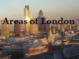 Areas of London