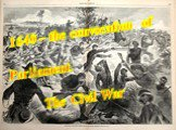 1640 – the convocation of Parliament. The Civil War