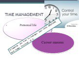 Personal life Career success. It teaches you how to manage your time effectively and make the most of it.
