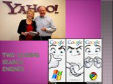 Two leading search engines