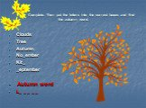 Clouds Tree Autumn No_ember Kit_ _eptember Autumn word L_ _ _ _ _