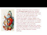 """The figure of Santa Claus, known in Germany as deerWeihnachtsmann(literally, """"the Christmas man""""), is a direct descendant of Saint Nicholas, as can easily be seen from the derivation of the name """"Santa Claus"""". The English appellation came directly from the Dutch variant """"I"""