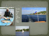 The Great Russian River - Volga. Saratov is situated of the right bank of the river Volga