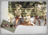 In the first from the children became october-children(okt`yabrjata) At the age of 12 they joined the pioneer organisation. They lived according to the laws of organisation. Every child had a badge with a portrait of Lenin on it.