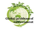 Global problems of environment