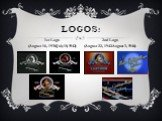 LOGOS: 1st Logo (August 16, 1930-July 18, 1942). 2nd Logo (August 22, 1942-August 3, 1946)