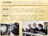In Great Britain microcomputer provided all students in upper secondary school. In General is komp uterus mathematics and fundamental Sciences. The program is aimed primarily at students. Informatics is included in the list of examination subjects. In Hungary along with traditional computer use in t