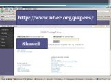 http://www.nber.org/papers/ Shavell