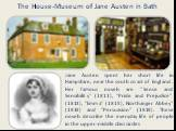 "Jane Austen spent her short life in Hampshire, near the south coast of England. Her famous novels are ""Sense and Sensibility"" (1811), ""Pride and Prejudice"" (1813), ""Emma"" (1815), Northanger Abbey"" (1818) and ""Persuasion"" (1818). These novels describe the"
